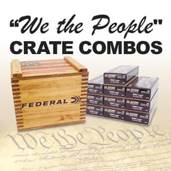 Buy We The People Crate Combos cheap online at Ammunition Depot