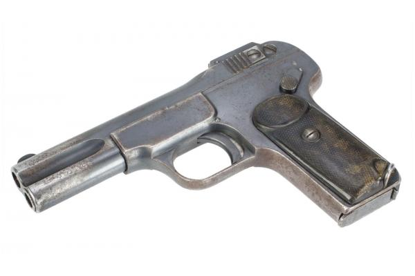 rusty antique handgun