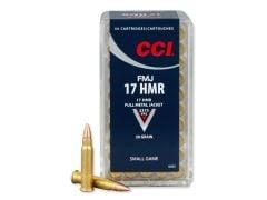 CCI 17 HMR 20 Grain FMJ