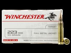 USA223R1L  Winchester USA 223 Rem 55 Grain FMJ