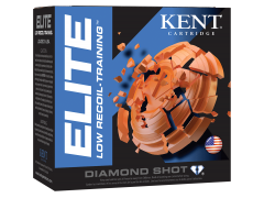 "E12L248  Kent Cartridge Elite Low Recoil - Training 12 Gauge 2.75"" 7/8 oz 8 Shot"