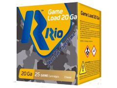 "RC2075 RIO Game Load 20 Gauge 2.75"" 1oz 7.5-Shot"