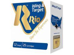 """WT2875 RIO Wing & Target 12 Ga 2.75"""" 1 oz 7.5 Shot"""