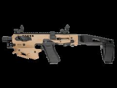 MCKTA Command Arms Synthetic Stock MCKTA MCK Advanced Conversion Kit - Glock 17/19/19X/22/23/31/32/45 Gen 3-5 Flat Dark Earth