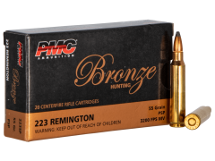 223SP-CASE PMC .223 Rem 55 Grain Soft Point