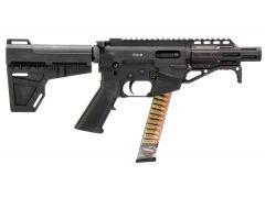 "FX9P4 Freedom Ordnance FX-9 9mm 4.50"" 31+1 Shockwave Pistol Brace Black Polymer"