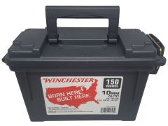 Winchester 10mm 180 Gr FMJ 150 Rounds in a Can (Case)