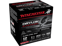 "XSC12LBBB Winchester Drylock Super Steel Magnum 12 Gauge 3.5"" 1-9/16 oz BBB Shot"