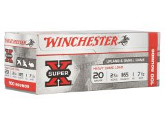 "XU20H7VP Winchester Super-X High Brass Game 20 Ga 2.75"" 1 oz 7.5 Shot"