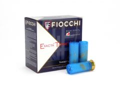 "Fiocchi Exacta Target Loads 12 Ga 2-3/4"" 1-1/8 Oz  No. 7 Steel Shot (Box)"
