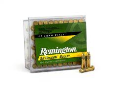 Remington Golden Bullet .22 LR 40 Grain RN Case 1500-CASE
