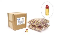 US Cartridge CleanBarrel 9mm 115 Gr Red TPJ (Bulk)