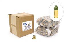 US Cartridge CleanBarrel Remanufactured 9mm 115 Gr Green TPJ (Bulk)