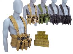 223-CHESTRIG-ROA22356FMJ-A500 Red Ops 223 Remington 56 Grain FMJ RTAC Chest Rig Combo