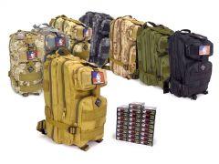 223-RTABP-22355WFMJ500 Wolf Performance 223/5.56 55 Grain FMJ RTAC Medium Backpack Combo