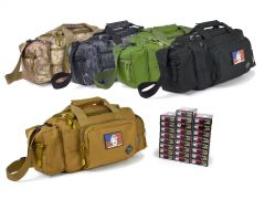 223-RTSRB-22355WFMJ500 Wolf Performance 223/5.56 55 Grain FMJ RTAC Small Range Bag Combo