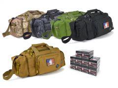 223-RTSRB-FIO223A500 Fiocchi 223/5.56 55 Grain FMJ RTAC Small Range Bag Combo