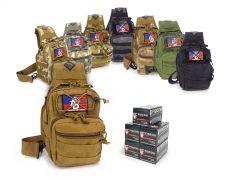 223-TACSLING-FIO223A250 Fiocchi 223/5.56 55 Grain FMJ RTAC Tactical Sling Combo