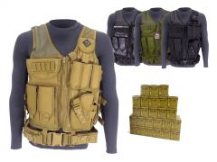 223-TV-01-ROA22356FMJ-A500 Red Ops 223 Remington 56 Grain FMJ RTAC Tactical Vest Combo