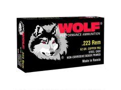 Wolf Performance .223 Rem 62 Grain FMJ