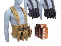 223-CHESTRIG-223A500 PMC 223/5.56 55 FMJ RTAC Chest Rig Combo