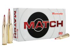 Hornady Match 308 Win 168 Gr ELD (Case)