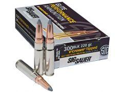 Sig Sauer Elite Hunting 300 Blackout 205 Gr Open Tip (Case)