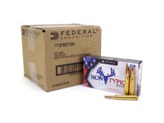 Federal Non-Typical Whitetail 270 Win 150 Grain SP Case 270DT150-CASE