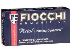 38SA-CASE Fiocchi Shooting Dynamics 38 Super 129 Grain FMJ (Case)