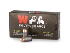 45FMJ Wolf 45FMJ PolyFormance  45 ACP 230 Grain FMJ