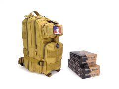 40SW-RTABP-5220500 Blazer Brass 40 SW 180 Grain FMJ RTAC Assault Pack Combo