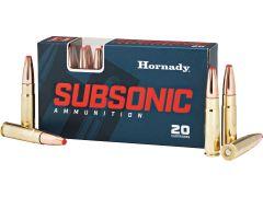 80877 Hornady Subsonic 300 Blackout 190 Gr Sub-X