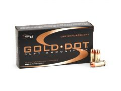 Speer Gold Dot .40 S&W 165 Grain HP