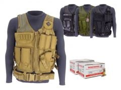 556-AD-TV-01-WM193150300 Winchester Lake City 5.56 55 Grain M193 FMJ RTAC Tactical Vest Combo