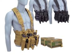 Winchester Lake City 5.56 62 Gr M855 Green Tip FMJ RTAC Chest Rig Combo