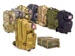 556-RTABP-WM855200400 Winchester Lake City 5.56 62 Gr M855 Green Tip FMJ RTAC Assault Pack Combo