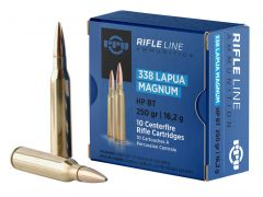PP338H PPU Rifle Line 338 Lapua 250 Grain Boat-Tail HP