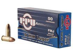 PPH9F2 PPU 9mm 124 GR FMJ