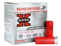 "XU12H7 Winchester Super-X Heavy Game Load 12 Ga 2.75"" 1 1/8 oz 7.5 Shot"
