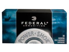 Federal Power-Shok 308 Winchester 150 Gr SP Case