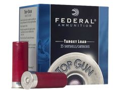 "TG1477-CASE Federal Top Gun 12 Gauge 2-3/4"" 1-1/8 oz No. 7 Shot (Case)"