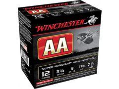 """AAHA127 Winchester AA Super Handicap 12 Ga 2.75"""" 1 1/8 oz 7.5 Shot"""