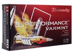 83366 Hornady Superformance Varmint 22-250 Rem 50 Grain V-Max