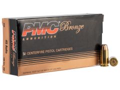45B-CASE PMC Bronze 45 ACP 185 Grain JHP