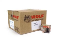 Wolf Military Classic 7.62x39 124 Grain FMJ (Case)
