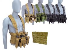 762X39-CHESTRIG-ROA76239124FMJ500 Red Ops 7.62x39 124 Grain FMJ RTAC Chest Rig Combo
