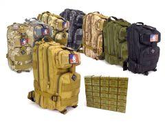 762X39-RTABP-ROA76239124FMJ500 Red Ops 7.62x39 124 Grain FMJ RTAC Medium Backpack Combo