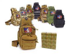 762X39-TACSLING-ROA76239124FMJ240 Red Ops 7.62x39 124 Grain FMJ RTAC Tactical Sling Combo