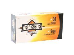 50043 Armscor Precision 9mm 115 Grain FMJ