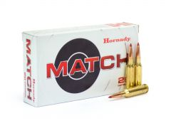 Hornady Match .224 Valkyrie 88 Grain BT ELD Polymer Heat Shield